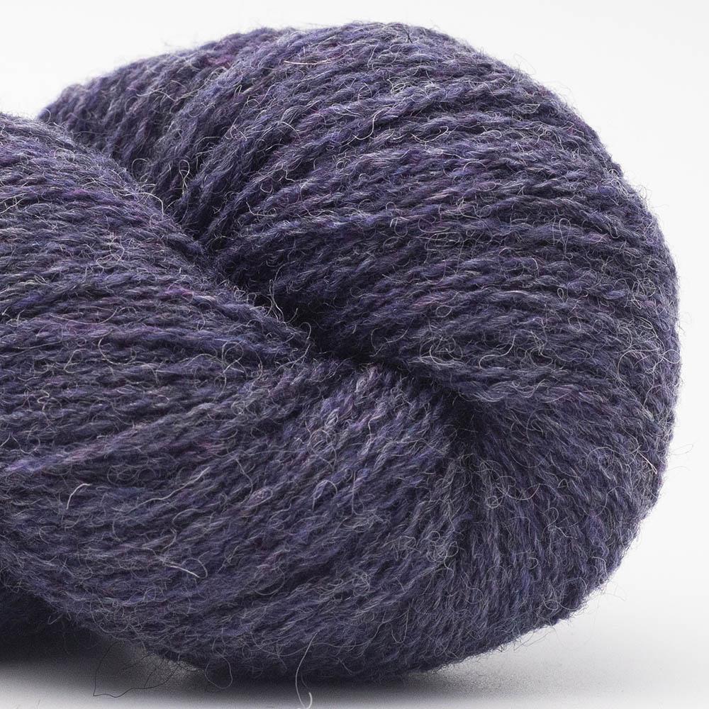 BC Garn Bio Shetland dark violet