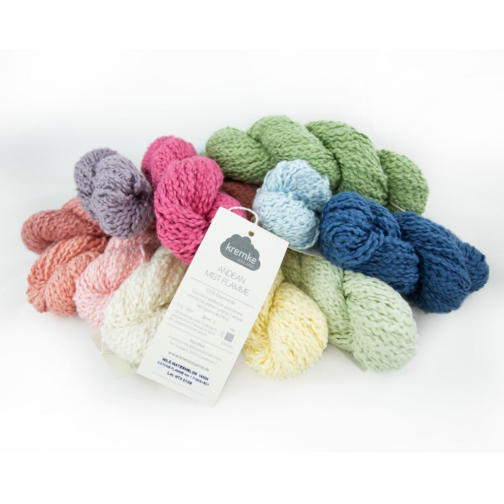 Kremke Soul Wool Andean Mist Cotton Flamme