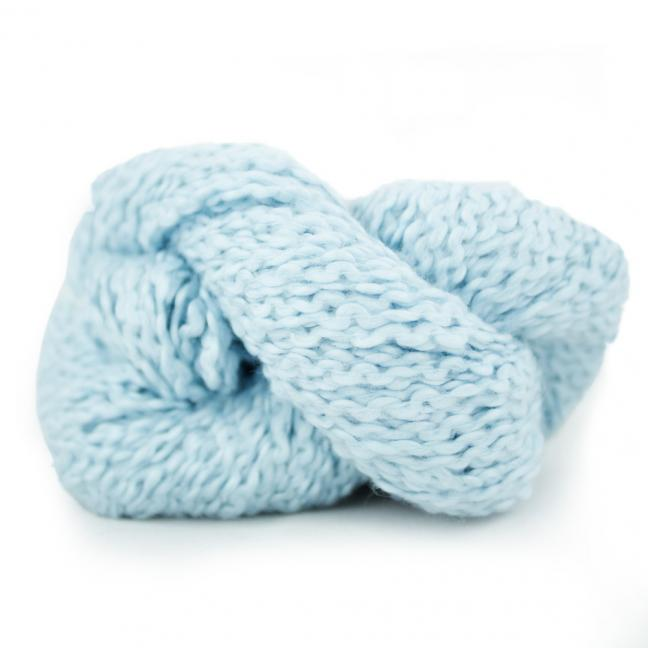 Kremke Soul Wool Andean Mist Cotton Flamme Sky Blue