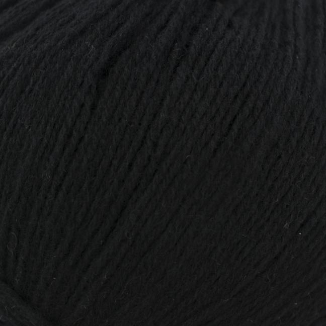 Kremke Soul Wool Eco Kashmir Schwarz