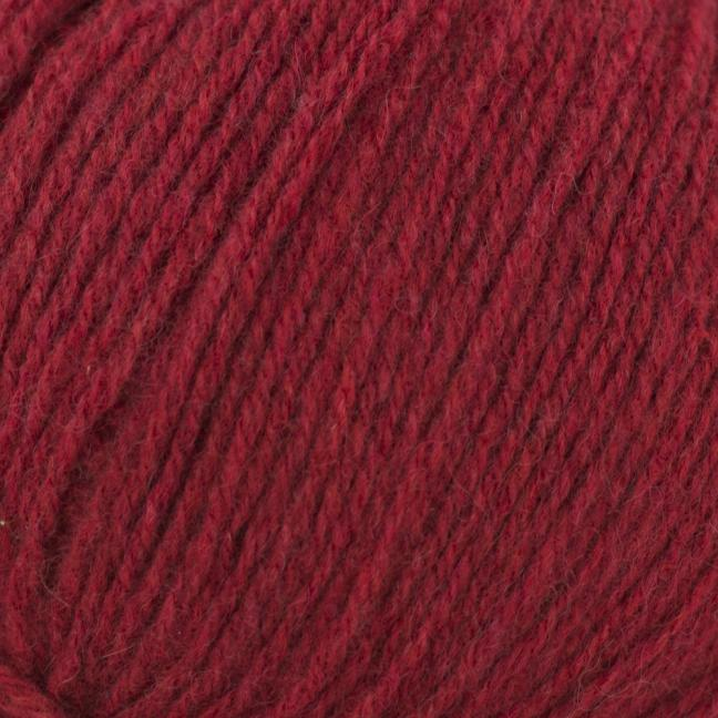 Kremke Soul Wool Eco Kashmir Kirschrot