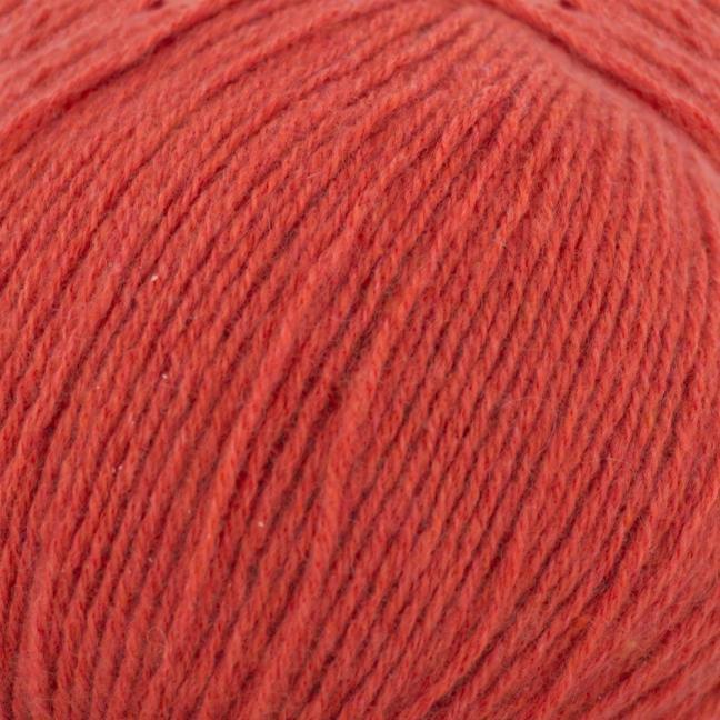 Kremke Soul Wool Eco Kashmir Ziegelrot