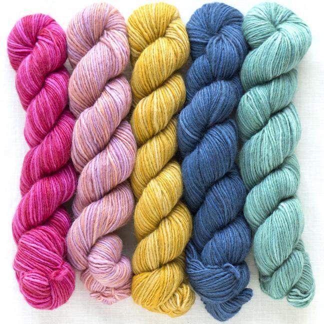 Manos del Uruguay Silk Blend Fino minis Josephine