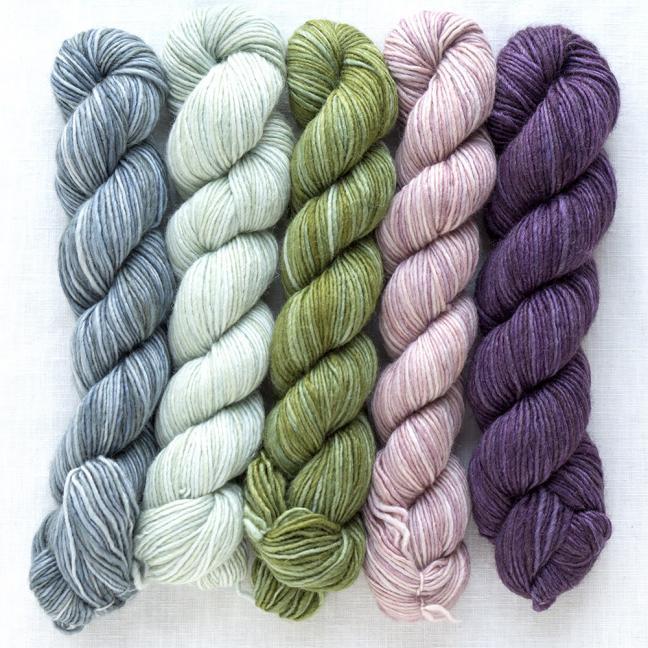 Manos del Uruguay Silk Blend Fino minis Lydia