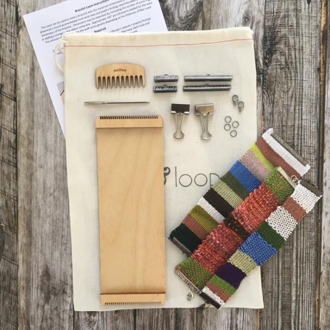 Purl & Loop Begynder Kit  - armbåndsvæv 12-fädige Kette