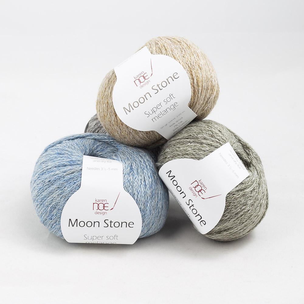 Karen Noe Design Moon Stone  Rose melange