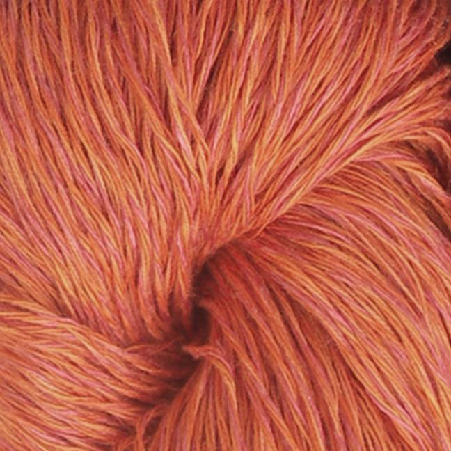 Karen Noe Design Linea Leinen Auslauffarben orange