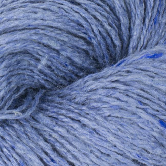 BC Garn Sarah Tweed auf Konen blau