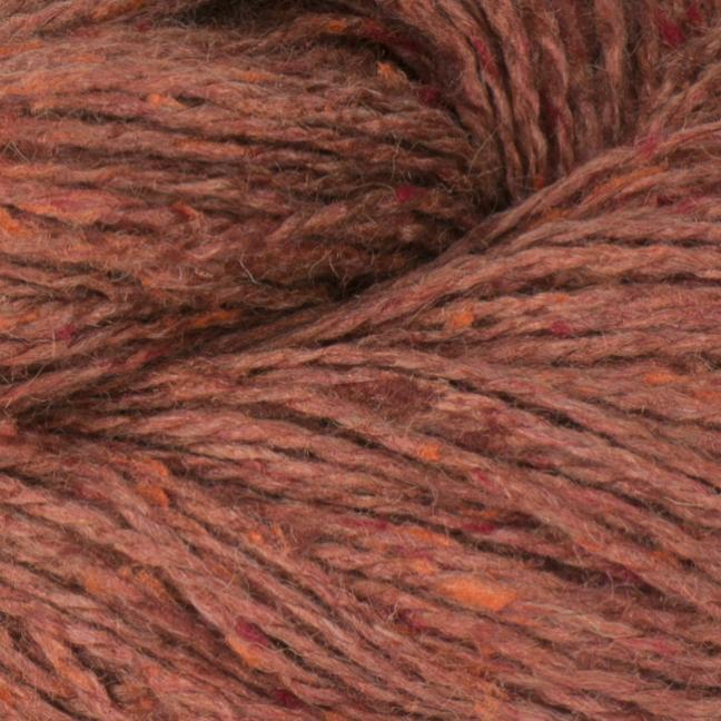 BC Garn Sarah Tweed auf Konen zink