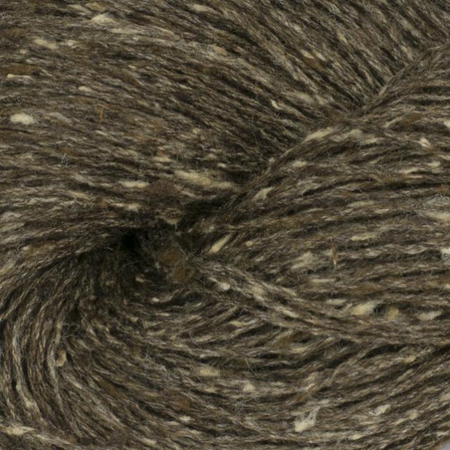 BC Garn Tussah Tweed on 1kg-cones brown-tweed-mix