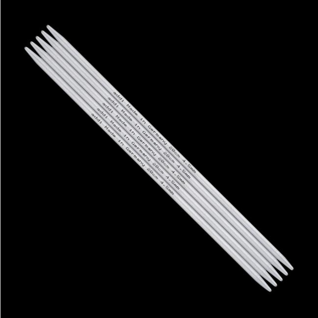 Addi Addi strømpepinde i Aluminium 201-7 4,5mm-20cm