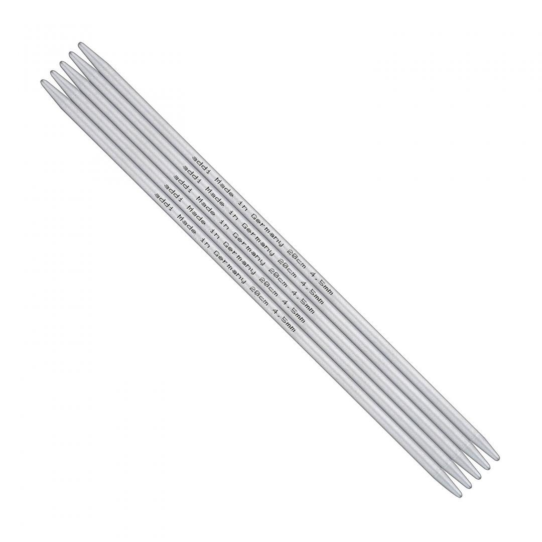 Addi Addi strømpepinde i Aluminium 201-7