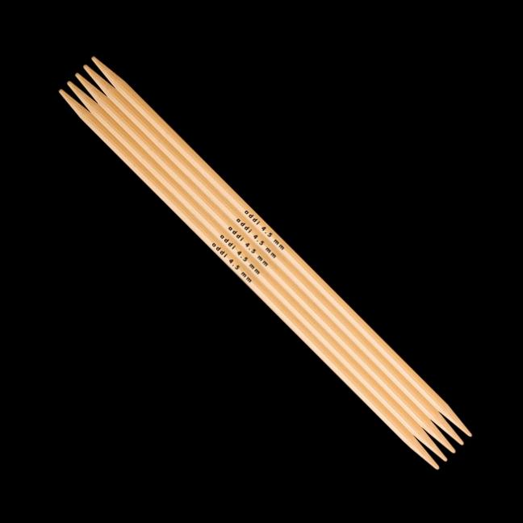 Addi Addi Bambus Strumpfstricknadeln 501-7 5mm_15 cm