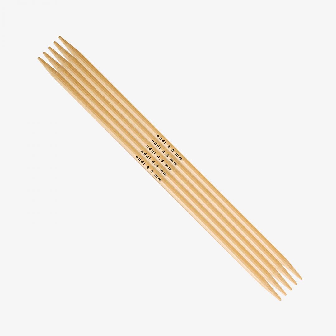 Addi Addi Bambus Strumpfstricknadeln 501-7 6mm_15cm