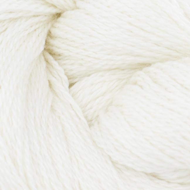 BC Garn Silkbloom Extra Fino auf 250g-Konen  naturweiß