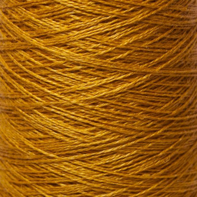 BC Garn Linen 16/2Ne auf 200g Kone Rotgold