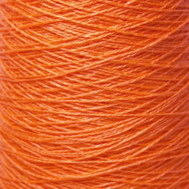 BC Garn Linen 16/2 on 200g cones Orange