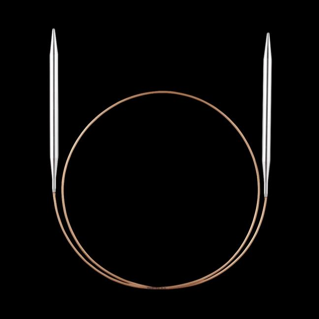 Addi Addi lace rund pinde med messing spids 10mm_40cm