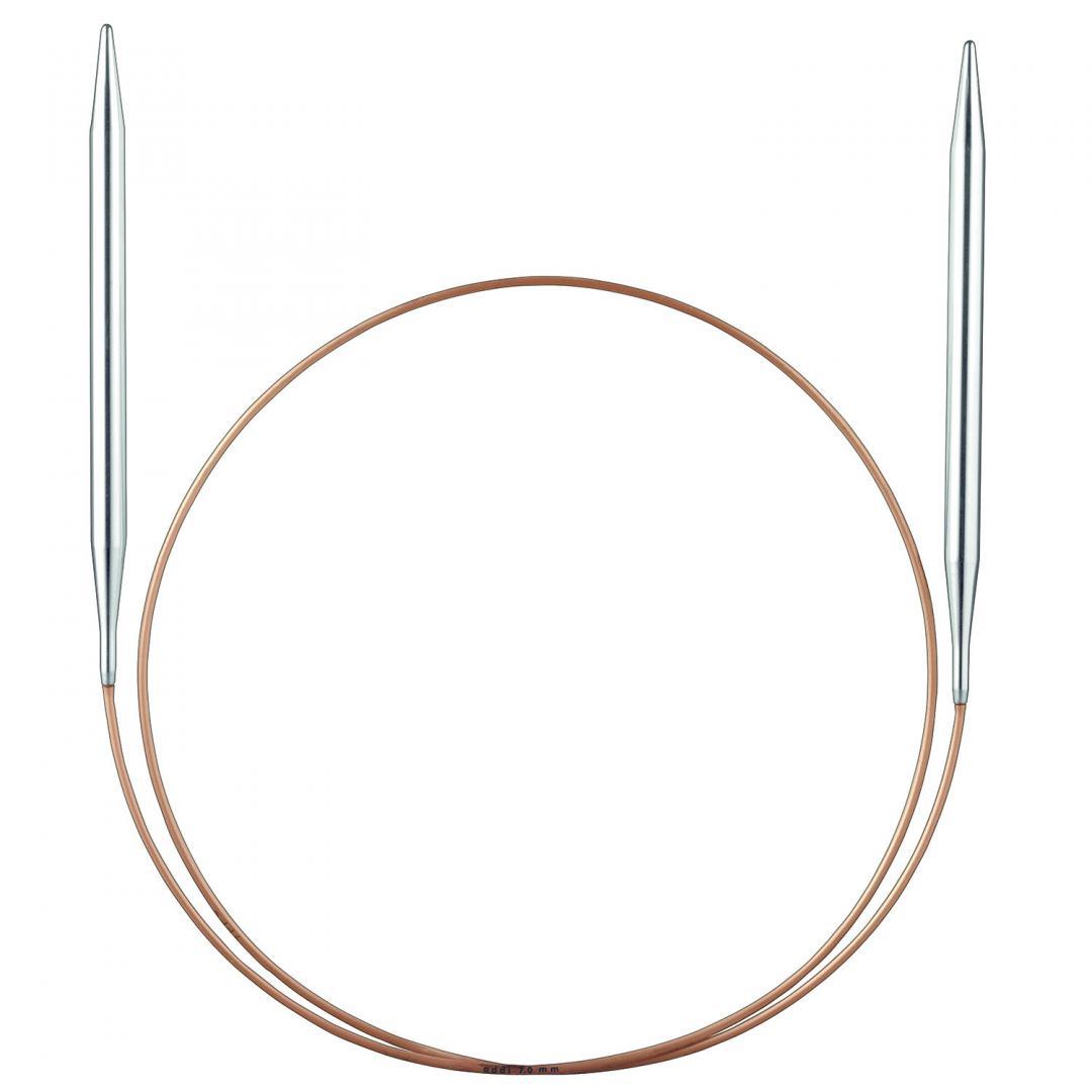 Addi Addi lace rund pinde med messing spids  1,5mm_40cm