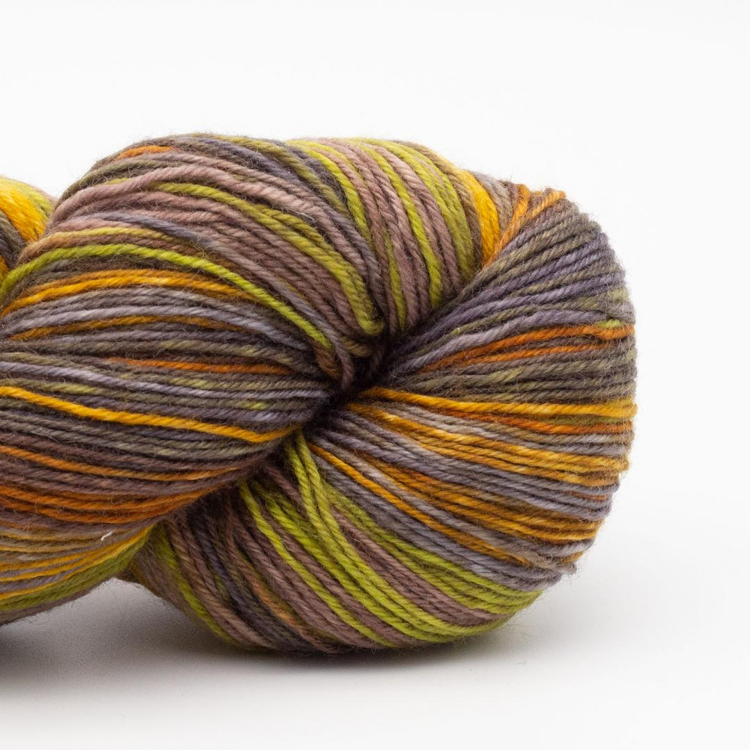 Kremke Soul Wool Lazy Lion Strømpegarn  Indian Summer