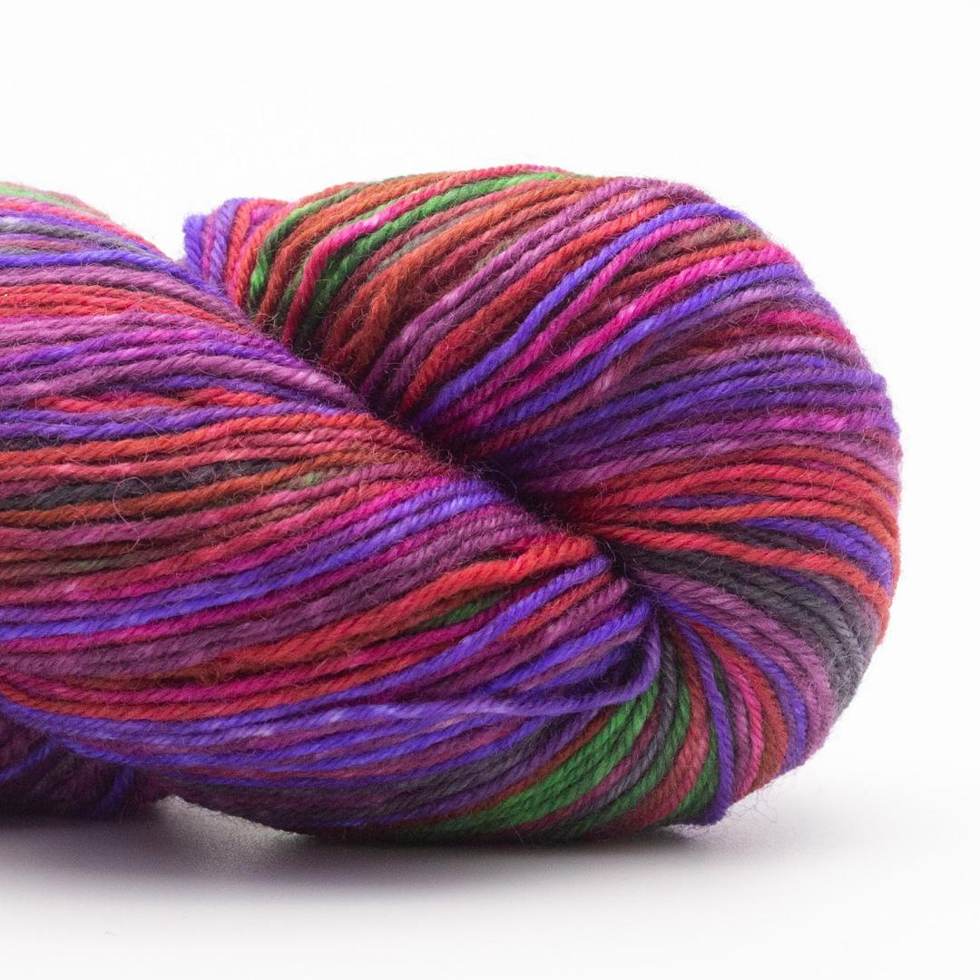Kremke Soul Wool Lazy Lion Strømpegarn Bunch of Roses