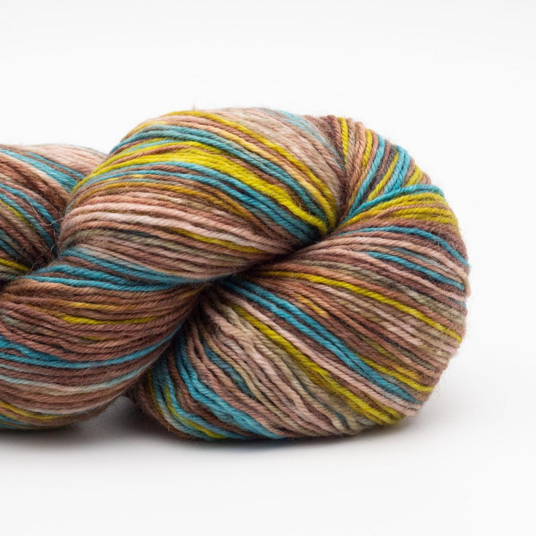 Kremke Soul Wool Lazy Lion Strømpegarn Deep Water