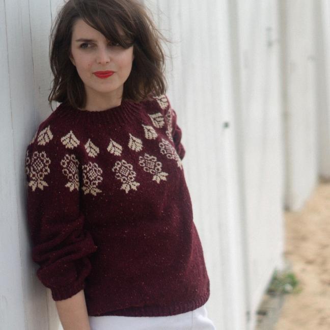BC Garn AH Kit Boy Scout Sweater Size 1S  Beige