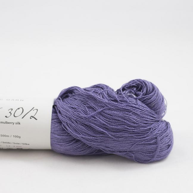 BC Garn Silk 30/2 Sonderposten  Purple 100g Strang