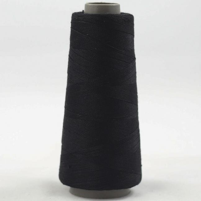 BC Garn Silk 30/2 Sonderposten Black 50g Kone