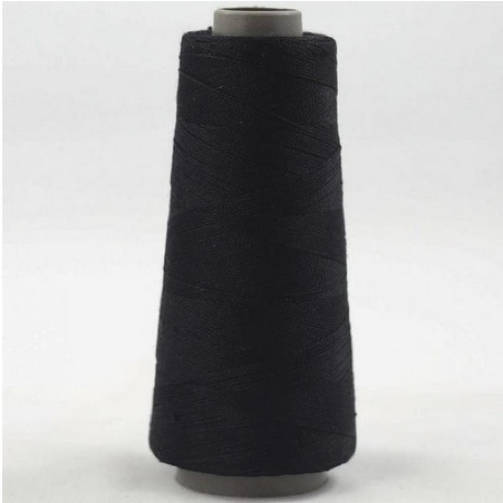 BC Garn Silk 30/2 in  Purple and Black