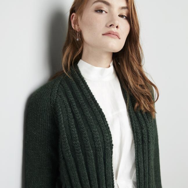 Erika Knight Einzelanleitungen/Patterns Wild Wool Shiregreen Englisch