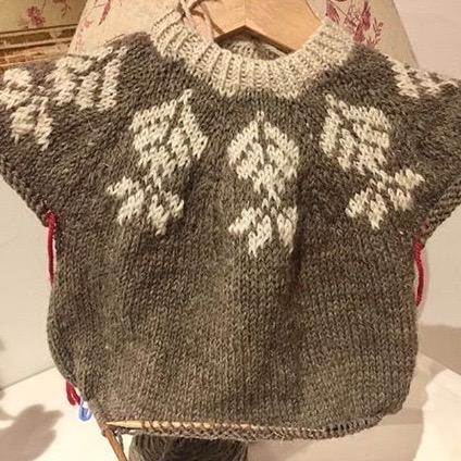 BC Garn AH Kit Petit Boy Scout Sweater Size 4-6 years