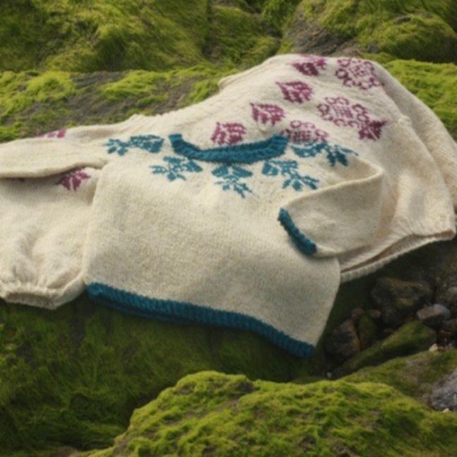 BC Garn Kit Petit Boy Scout Sweater size 4-6 years  Beige