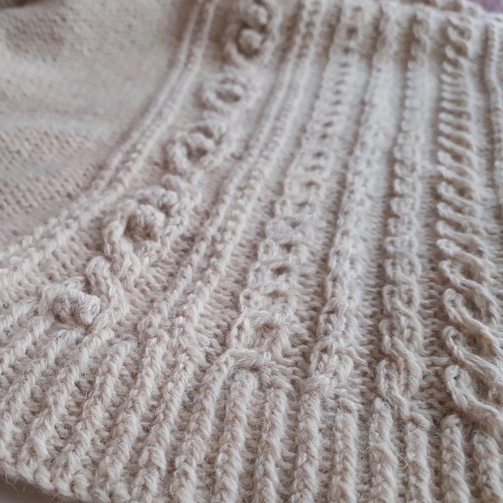 BC Garn AH Kit Hockney Cardigan Size S