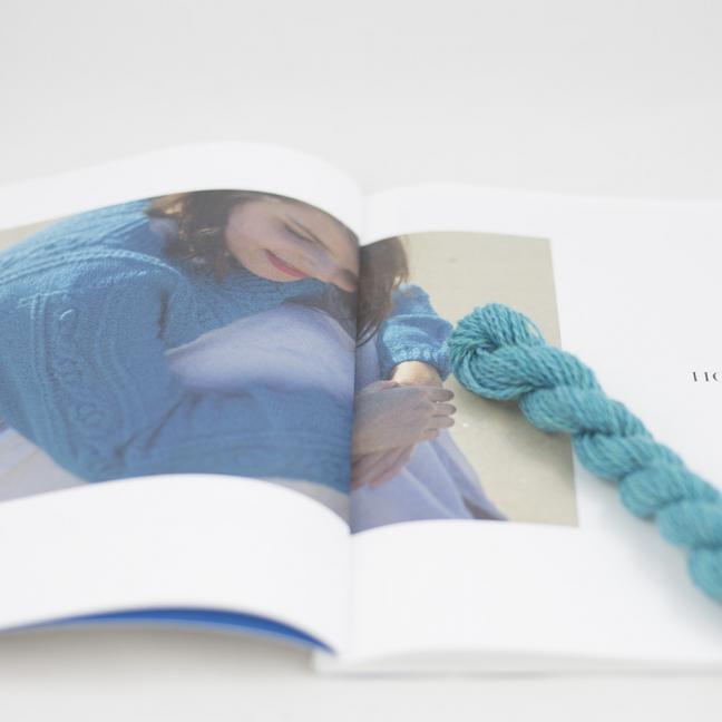 BC Garn Kit Hockney Cardigan Size S Turquoise