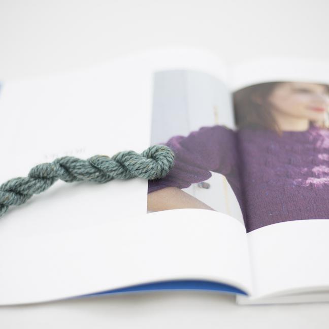 BC Garn AH Kit Victor sweater size 5 Aqua