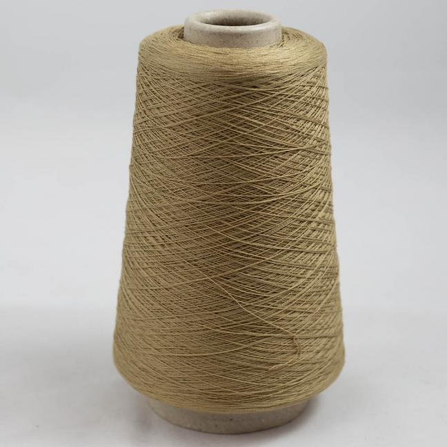 BC Garn Luxor Fino mercerized Cotton 200g Cone Sand