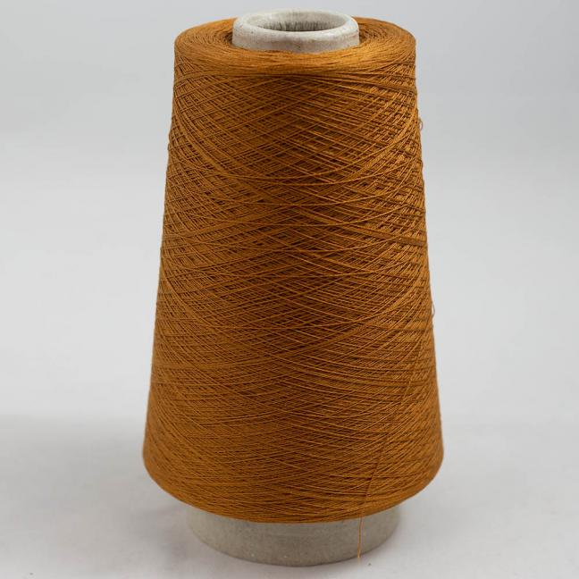 BC Garn Luxor Fino mercerized Cotton 200g Cone Bronze