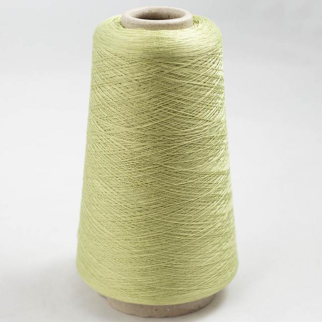 BC Garn Luxor Fino mercerized Cotton 200g Kone Hellgrün