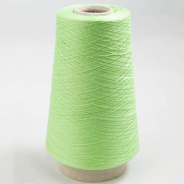 BC Garn Luxor Fino mercerized Cotton 200g Kone Kräftiggrün
