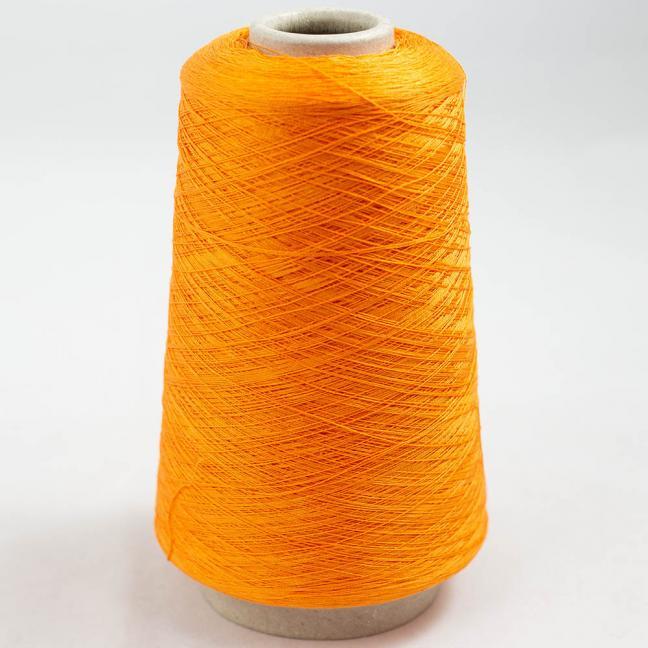 BC Garn Luxor Fino mercerized Cotton 200g Kone Hellorange