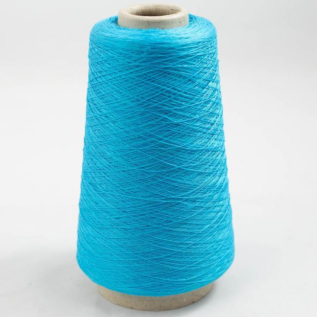 BC Garn Luxor Fino mercerized Cotton 30/2 200g Kone Cyan