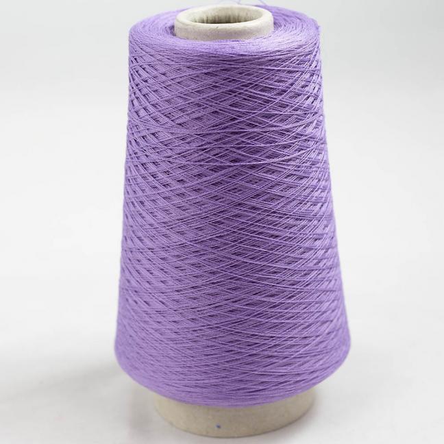 BC Garn Luxor Fino mercerized Cotton 30/2 200g Kone Lavendel