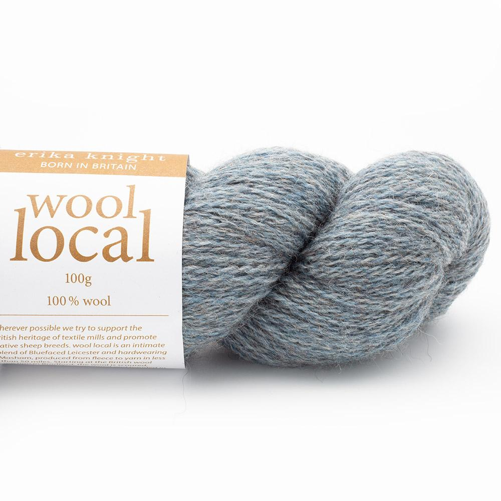 Erika Knight Wool Local 100g  Bennett Pale Blue