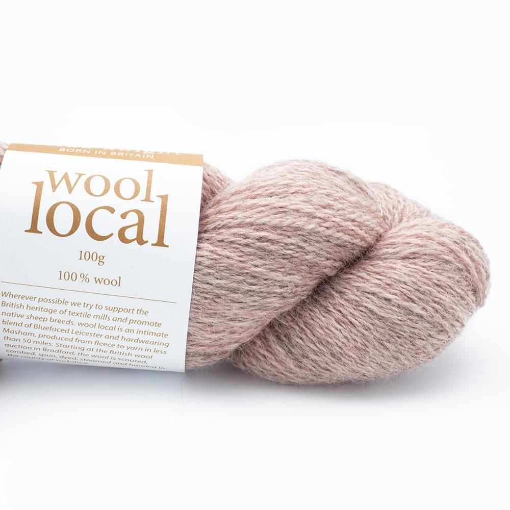 Erika Knight Wool Local 100g Rosedale Pale Pink