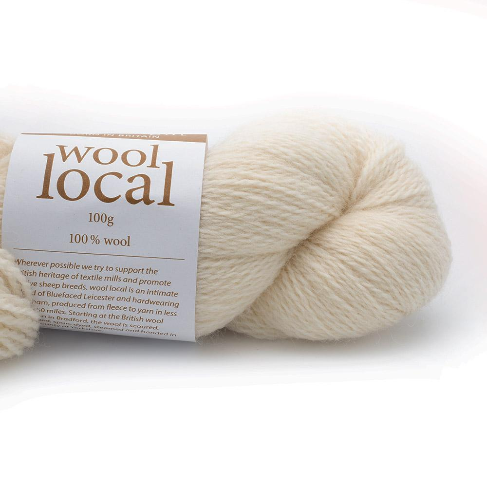 Erika Knight Wool Local 100g Fairfax Ecru