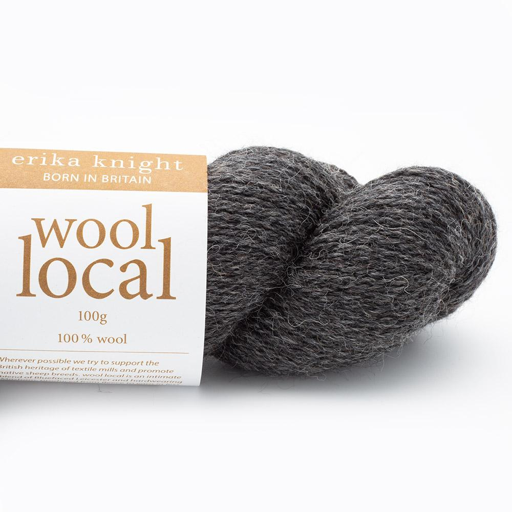 Erika Knight Wool Local Cathy Dark Grey