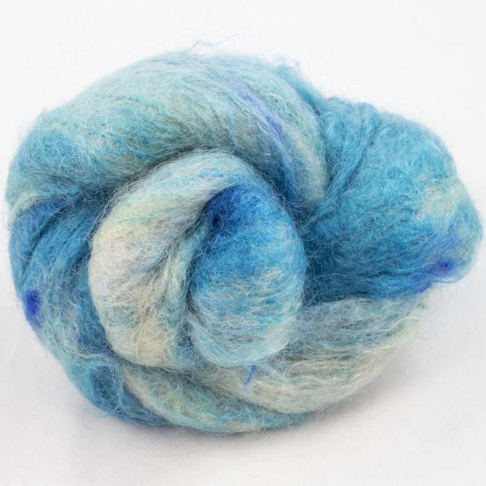 Cowgirl Blues Fluffy Mohair Gradient 100g Shorebreak