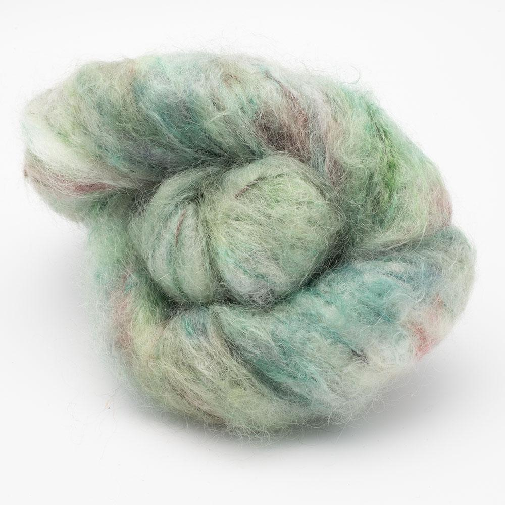 Cowgirl Blues Fluffy Mohair Gradient 100g Karma Chameleon