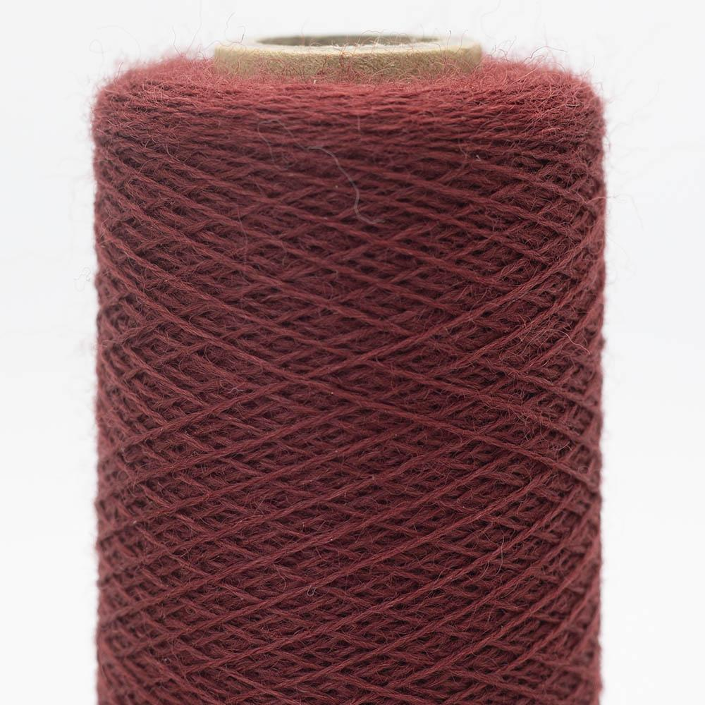 Kremke Soul Wool Merino Spindelvævs Lace 25/2 Dark Red